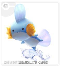 135 Brazilian Pokédex Project :: HOENN by 2 Minds Studio , via Behance