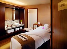 Sheraton Bratislava Hotel—Shine Spa for Sheraton - Massage Room, via Flickr.