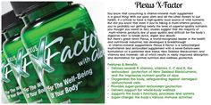 X-Factor has only the highest level of potency of every vitamin in its ingredients! Furthermore, it contains a large dose of patented aloe blend and the potent New Zealand Blackcurrant! Order your today! www.PlexusSlim.com/85788