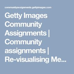 Getty Images Community Assignments   Community assignments   Re-visualising  Mental Health Problems   Submissions   A restless search for self's face