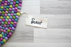Filzkugelteppich von Sukhi - der must have Teppich - nicht nur für's Kinderzimmer