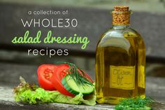 Plain salads are no fun - flavor things up with these 8 Whole30 salad dressing recipes. Read and upgrade ordinary salads!
