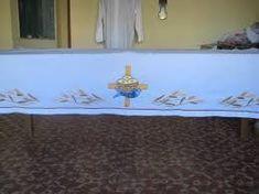 Risultati immagini per dibujos para manteles de iglesia
