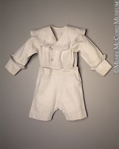 Boy's Suit  1917-1918  The McCord Museum