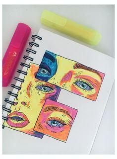 Indie Drawings, Cool Art Drawings, Art Drawings Sketches, Marker Drawings, Arte Indie, Indie Art, Art Journal Inspiration, Art Inspo, Hippie Painting
