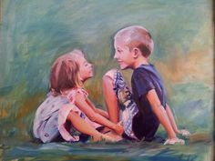Moments in time Oil painting