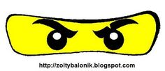 yellow ninjago eyes template (white eyes template also on this page)