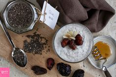 Beatrix Cuisine: Chia seed pudding with coconut and honey #RECIPE