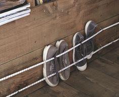Schuhe im Wohnwagen aufbewahren