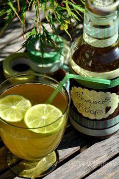 Heidelbeer-limonade