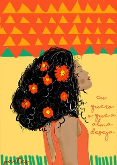 Empoderamento feminino Cachos Belchior Ilustrações