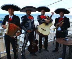 arts: Mariachi bands are very popular in Mexico. They perform at beaches, restaurants, and many more places.
