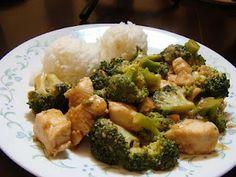 Spicy Chicken & Broccoli Stir Fry