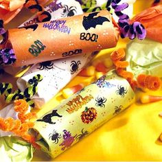 Halloween Candy Poppers