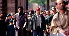 Bruce Willis Samuel L. Jackson in Unbreakable Best Action Movies, The Best Films, Action Film, Latest Movies, Bruce Willis, Best Movie Lines, Anthology Film, Crime Film, Robin Wright