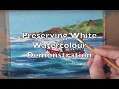 How to paint a colourful seascape in watercolour