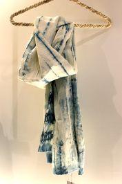Echarpe teinté #indigo Betty de Paris