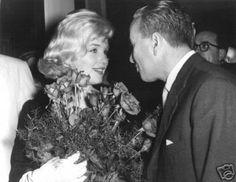 Marilyn Monroe at the David Di Donatello Awards at the Italian Culture Institute, May 13th 1959.