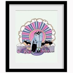 Happy Trails Print - Valfre