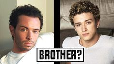 JUSTIN TIMBERLAKE IS MY BROTHER!!! | REACTING to OLD ACTING HEADSHOTS | ...