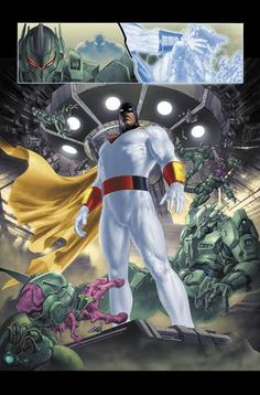 What is this comic page from? - Space Ghost - Comic Vine