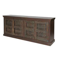 $870  MOTI Furniture Bend 4 Door Sideboard
