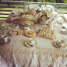 Vintage high tea baby shower