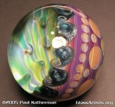 Paul Katherman Paul & Aimee Katherman have been working with glass for over 8 years and have been teaching through demonstrations for 6 of those years. They have been published in many Publications such as Lapidary Journal, The Flow, & many local newspapers.