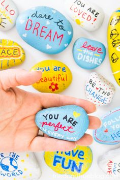 Participating in the Kindness Rocks Project with kids is easy with the hints and tricks I've learned! Great way to teach important lessons!