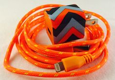 A personal favorite from my Etsy shop https://www.etsy.com/listing/230574512/iphone-charger-and-wall-plug-usb-cable