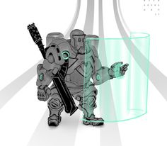 Tank sketchy concept hero TUMBLR: http://nickprokoart.tumblr.com