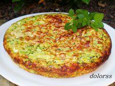 Pastel de calabacin gambas y parmesano Blog de cuina de la dolorss: Delicias saladas