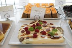A part of our dessert buffet for lunch, lunch buffet, lunch in our pavilion, organic food, allergy friendly, healthy food, hotel living, hotel lunch. Hotel Refsnes Gods. Lunch Buffet, Dessert Buffet, Healthy Food, Healthy Recipes, Organic Recipes, Pavilion, Allergies, Panna Cotta, Waffles