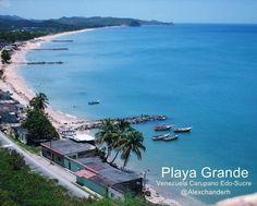 Playa Grande Carupano Estado Sucre