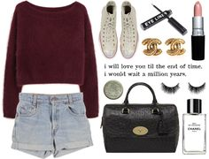 """blue jeans / / lana del rey"" by californianwinter ❤ liked on Polyvore"
