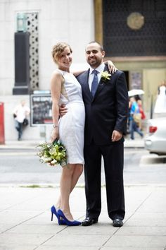 City Hall Wedding Fashion
