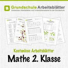 Kostenlose Arbeitsblätter und Unterrichtsmaterial für den Mathe-Unterricht in der 2. Klasse in der Grundschule.