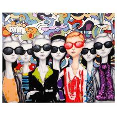 Produit : SUNGLASSES - Toile 120x150cm Femmes  Thème : Au boulot la déco !  Ajouté à la liste de caro  via 35ansFly.fr