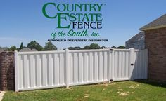 We know what works! We know what lasts! Country Estate® is the original vinyl fence. Contact your local Country Estate® Dealer for more information.