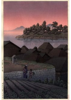 Hasui Kawase  Amakusa Honryo, 1937