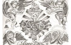 Boog tattoo designs for women and men. Boog tattoo drawings of different sizes, shapes and colors. Boog tattoos made on different body parts. Chicano Art Tattoos, Chicano Drawings, Gangsta Tattoos, Body Art Tattoos, Sleeve Tattoos, Ship Tattoos, Gun Tattoos, Ankle Tattoos, Arrow Tattoos