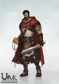 ArtStation - Quintus, sebastien de louvigny. Mercenary