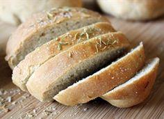 Rosemary Peasant Loaves (makes 4 small loaves)