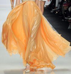 peach on #peach #dress