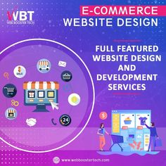 Looking for an eCommerce web design company for your site?  Web Booster Tech is a complete IT solution company which results in captivating designs. Our designer works hard to design and develop effective B2B & B2C eCommerce mobile apps that help you connect with customers in a more engaging way.  #websitedesign #webdesignanddevelopment #webdevelopmentcompany #ecommercewebsitedevelopmentindia #ecommercewebdesign #ecommercewebdesignservice #onlineshoppingsitedevelopment Ecommerce Web Design, Web Design Services, Web Design Company, Best Digital Marketing Company, Web Development Company, Online Shopping Sites, Site Web, Mobile App, Connect