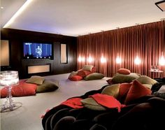Home Theater Room Ideas home theater paint colors | the best color scheme you have seen
