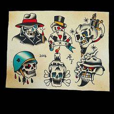 Flash by @aptattooer #trflash#traditional_flash#tattoo#tattooflash#traditional#traditionaltattoo#traditionalflash#tattooart#flash#art#illustration#drawing