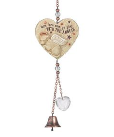 Look what I found on #zulily! 'Run Free Now' Dog Bell Chime #zulilyfinds