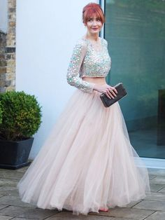 Have I ever been more excited about an outfit I have ready waiting to wear  to an event  Last Friday I channelled my inner fairy princess in a sparkly  crop ... b156644d4d70