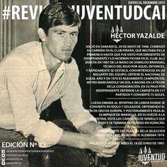 #JuevesDeRevista! Les dejamos la edición número 13 de la #RevistaJuventudCAI. #HectorYazalde